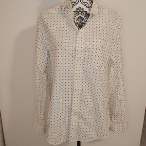 NWT Goodfellow and Co mens button shirt white